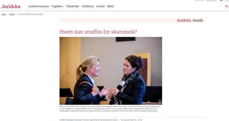 Kommentar til Høyesteretts dom om skatteamnesti: Anger fører ikke alltid til tilgivelse