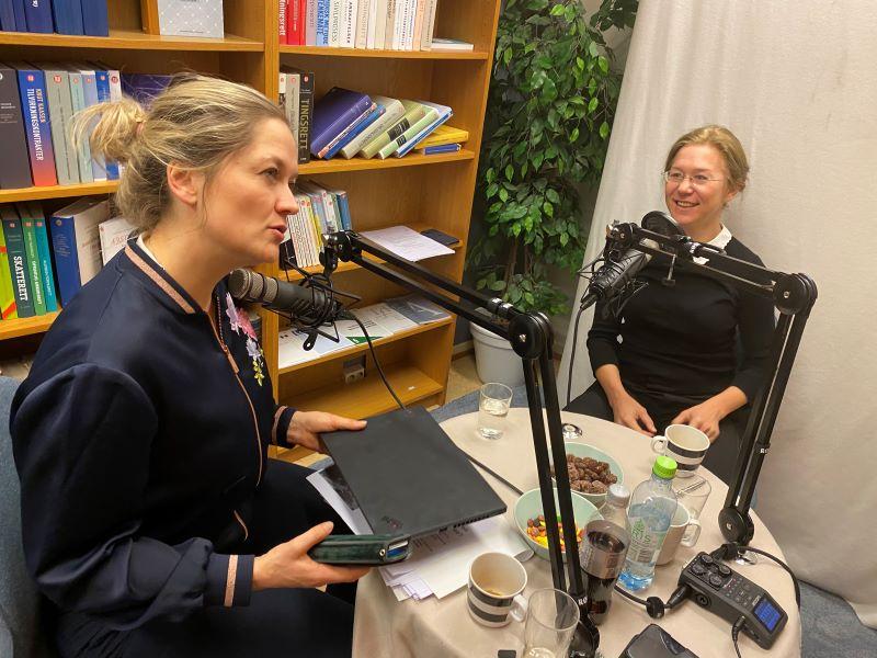 Første sesong av podkasten Takk og lov med Anine Kierulf