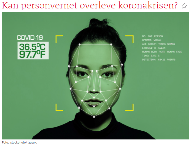 Kan personvernet overleve koronakrisen? Personvern og det norske koronasertifikatet