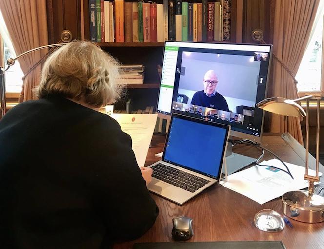 Digitale vitneforklaringer i koronaens tid