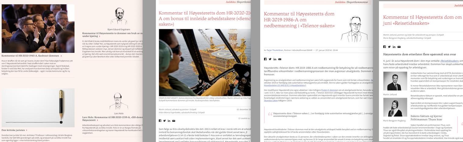 Kommentar til Høyesteretts dom i «Forskersaken», HR-2020-2017-A