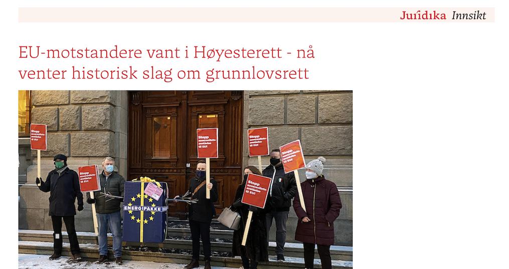 Ekspertkommentar til Høyesteretts betenkning