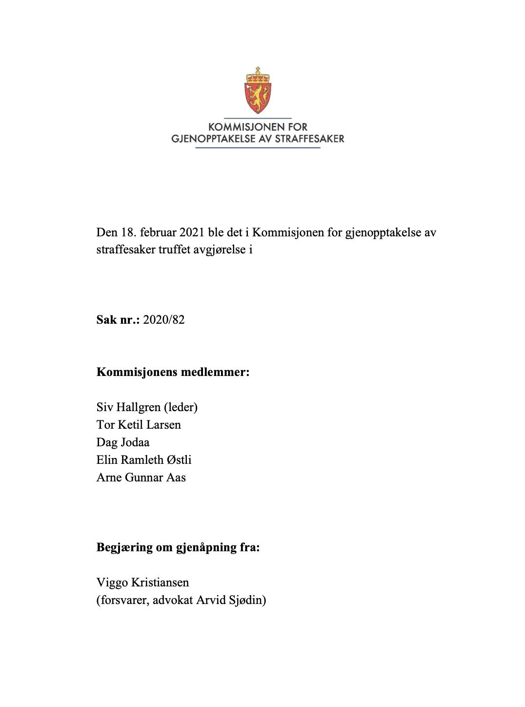 Morten Holmboe om Løslatelsen i Baneheia-saken – og veien videre